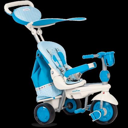 Велосипед Smart Trike 5в1 Dazzle/Splash Blue (от 10 месяцев до 3х лет)